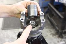 pinion shaft retaining bolt size
