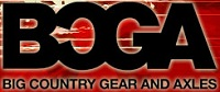 Big Country Gear And Axles